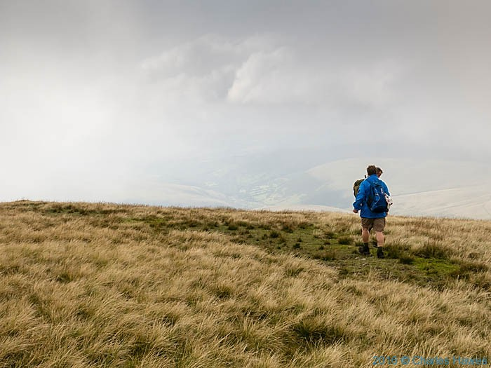 The Cambrian Way near Fan Foel, photographed by Charles Hawes