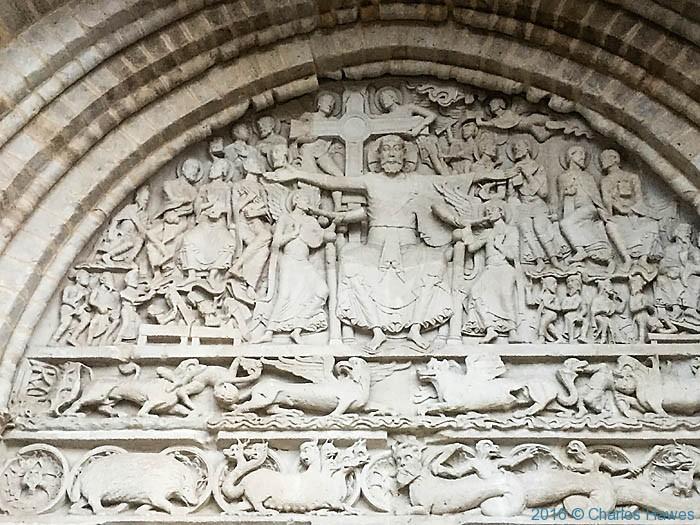 Abbatiale Saint Pierre, Beaulieu -sur-Dordogne, photographed by Charles Hawes