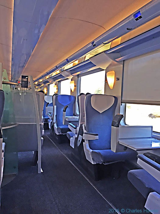 SNCF train from Limoges to Brive photographed by Charles Hawes