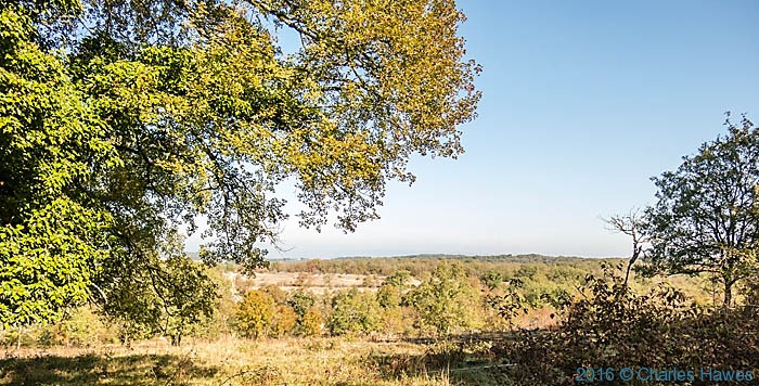 Plateau above Carennac, France, photographed by Charles Hawes