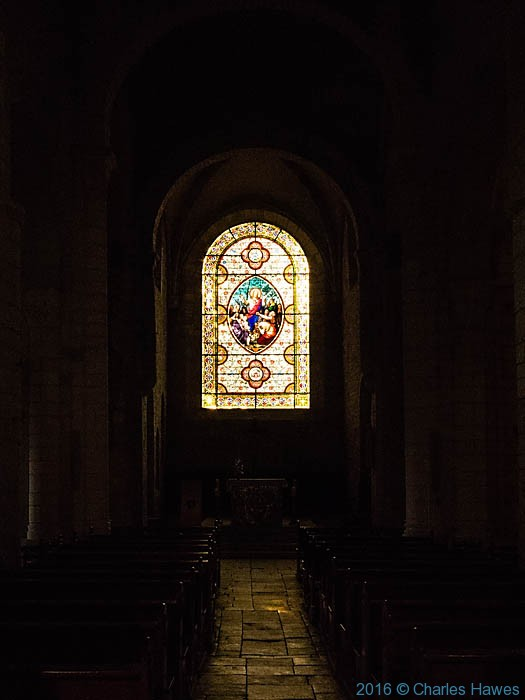 Eglise Saint Pierre, Carennac, Dordogne, France, photographed by Charles Hawes