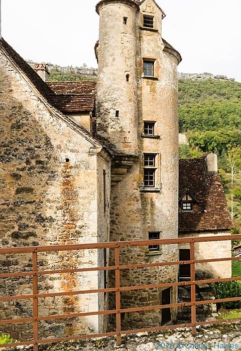 Chateau de Lamargue, Autoire, France photographed by Charles Hawes