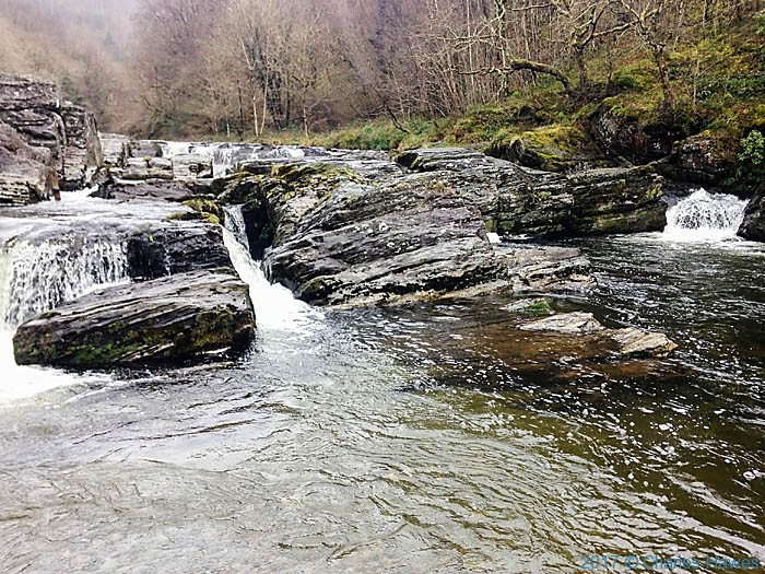 River Rheidol near Devil's Bridge, photographed from The Cambrian Way by Neil Smurthwaite