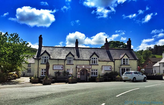 The Hand at llanarmon Dyffryn Ceiriog, photo courtesy of the owners