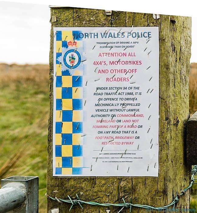 Upper Ceiriog Way near Llanarmon Dyffryn Ceiriog, photographed by Charles Hawes