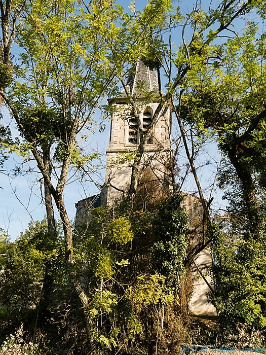 Saint Pantaleon, near Belaygue, France, Photographed by Charles Hawes