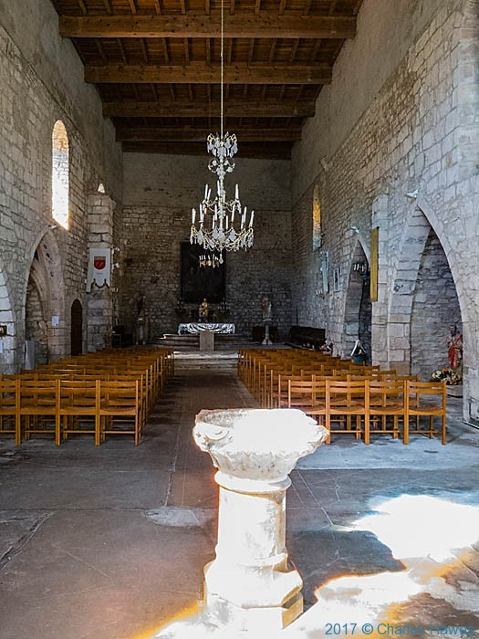 Church of St Catherine's, Penne, France, photographed by Charles Hawes