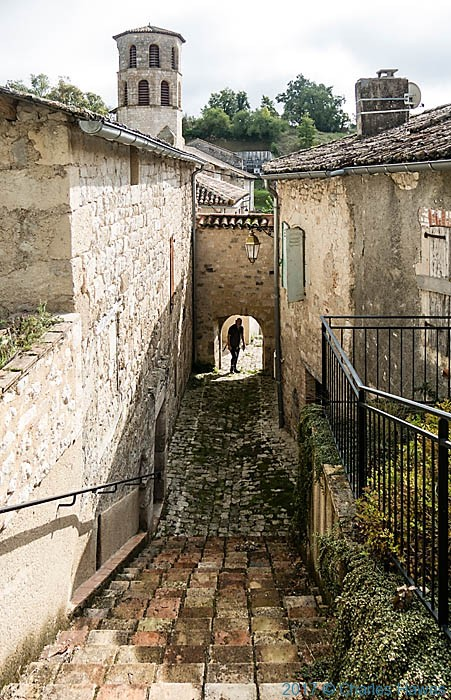 Vieux, France, photographed by Charles Hawes
