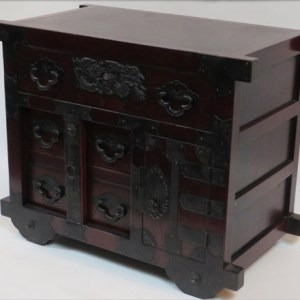 Bedside Cabinet with Wheels
