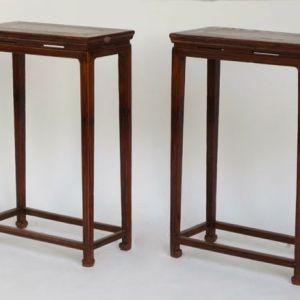 Elm Side Table, Shanxi Province, China, c. 1780