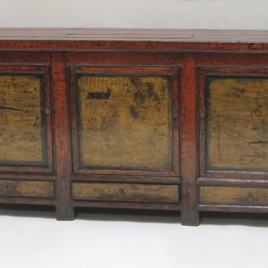 Lacquered Painted Sideboard