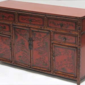 Bamboo Painted Sideboard
