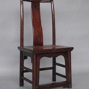 Elm Wood Small Chair, Jiangsu Province, China, Late 19th Century