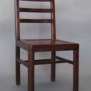 Elm Wood Side Chair, Zhejiang Province, China,China, Early 19th Century, 15.5