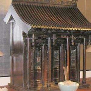 Wooden Shrine, Shanxi Province, China