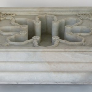 Hand Carved Marble Square Fountain