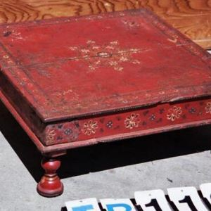 Painted Wooden Low Table