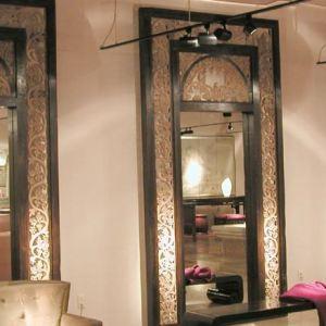 Carved Wood Mirror Frame