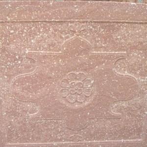 Carved Sandstone Plaque