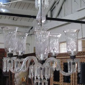 5 Light Antique Chandelier, India