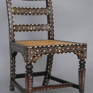 Wood Inlay Chair