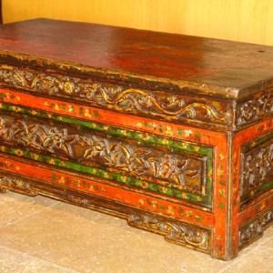 Tibetan Ceremonial Table