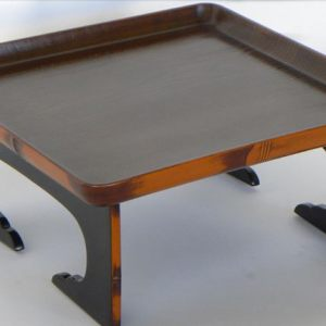 Lacquer Wooden Tray, Japan