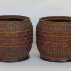 Basket Weave Hibachi