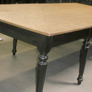 Jack Wood Table Base with Ajiro Top