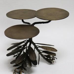 Antique Brass Ulta Champa Table