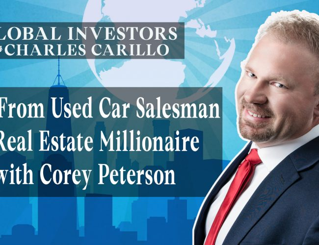 From Used Car Salesman to Real Estate Millionaire with Corey Peterson (youtube)