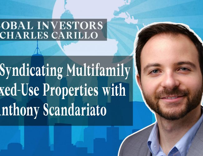 Syndicating Multifamily & Mixed-Use Properties with Anthony Scandariato (Youtube)