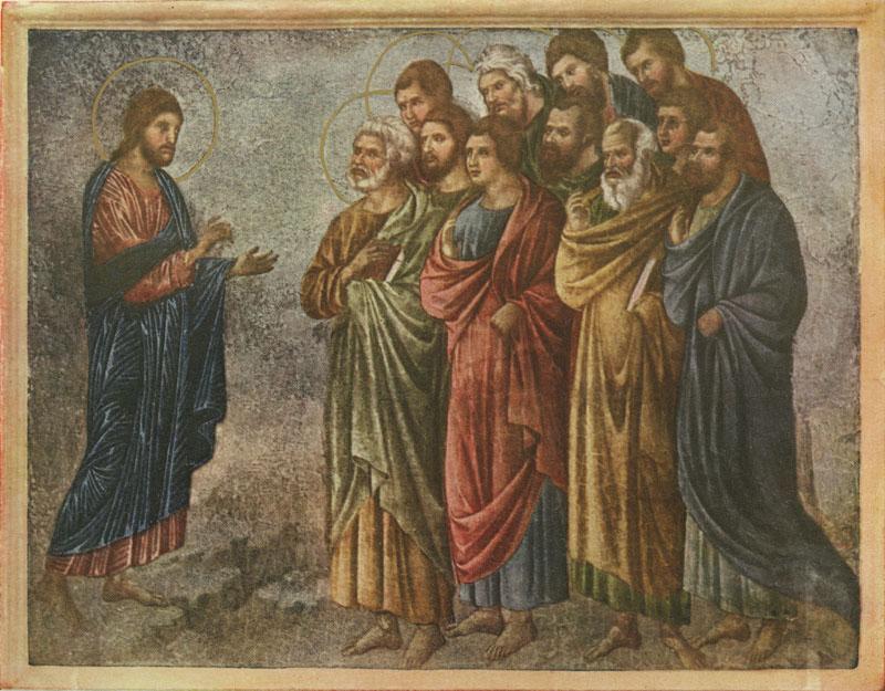 The sending of the Twelve by Duccio di Buoninsegna