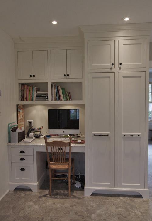 Beautiful white kitchen Nova Scotia  homeowner is over