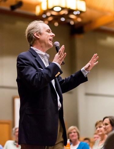 California humorous motivational speaker Charles Marshall