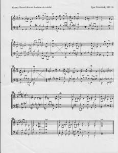 StravinskyChoral