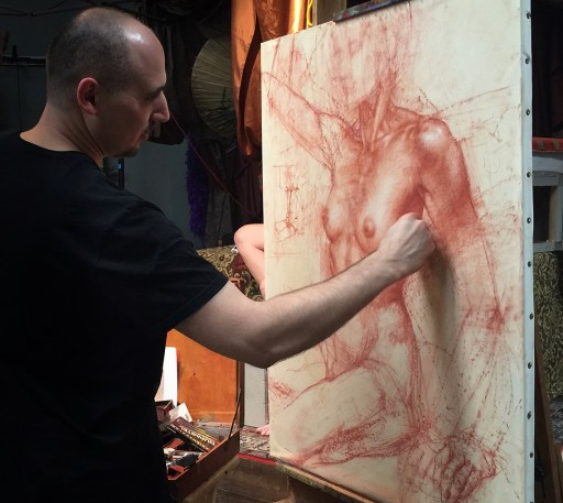 Charles Miano Red Chalk Demonstration