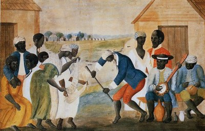Slaves Dancing on a South Carolina Plantation, John Rose, ca. 1785-95