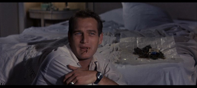 "PAUL NEWMAN in a scene from ""Sweet Bird of Youth."""