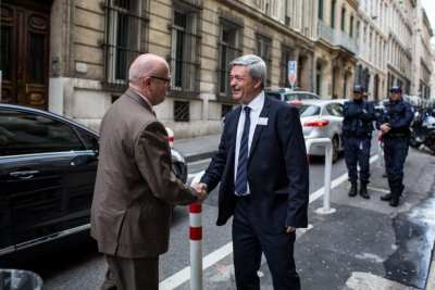 Arrivée de M BEIGNIER Recteur de l'Acadméie Aix Marseille