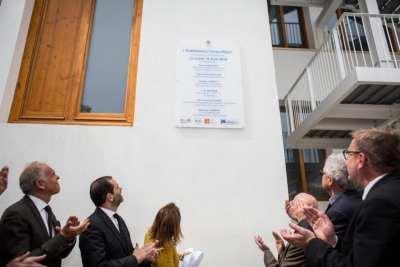 Inauguration de la plaque commémorative