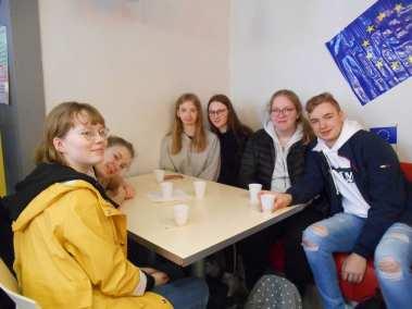 Des élèves Polonais