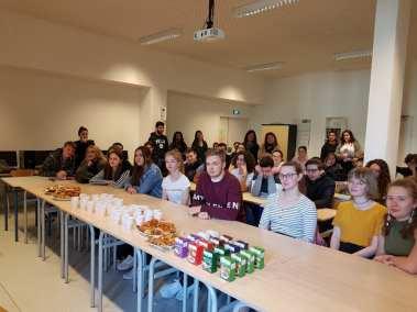 Participation aux cours avec petit déjeuner