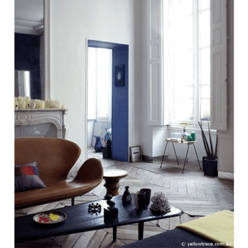 Charles Ray and Coco - Blog deco - Arne Jacobsen - sofa