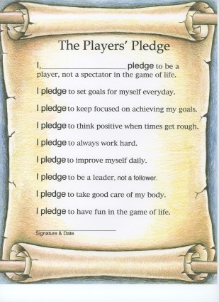 Download the Players Pledge