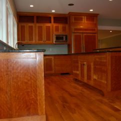 Cherry Wood Kitchen Cabinets Aide Juicer Charles Shafer | Renovation Bath Madison Ct 06443