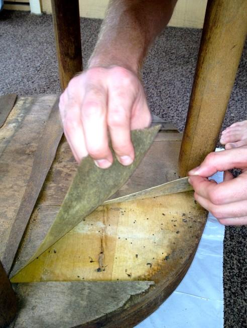 Peeling Wood - Charleston Crafted