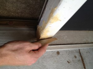 Fixing a dog-chewed wall - Charleston Crafted