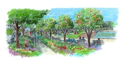 Rendering courtesy of Charleston Parks Conservancy
