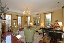 Bright formal living room